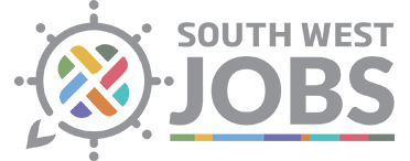 Footer logo for South West Jobs